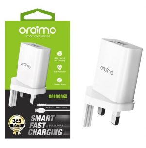 Oraimo 2A Fast Charger Kit