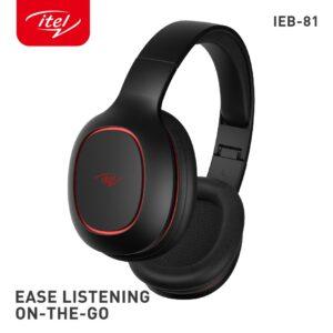 ITEL WIRELESS OVER-EAR HEADPHONE (IEB-81)